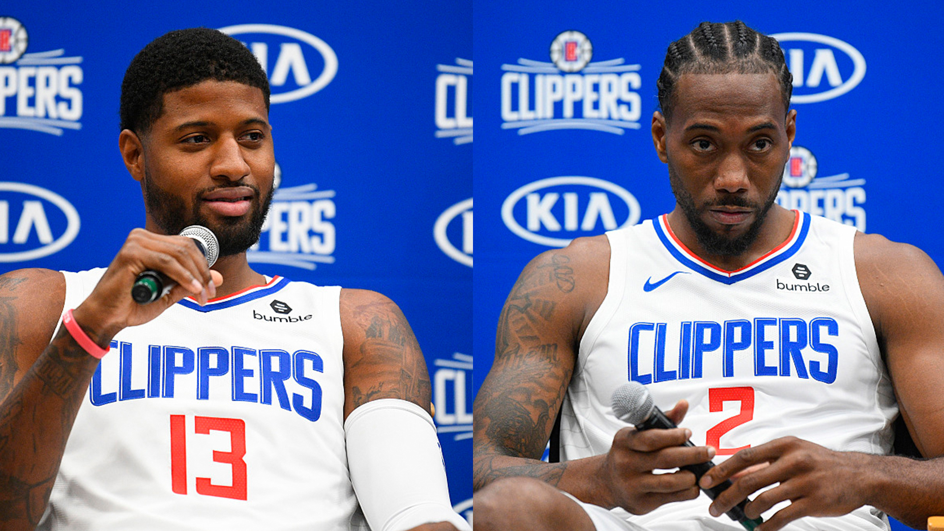 Paul George Wallpaper Hd - Kawhi Leonard Clippers Media Day , HD Wallpaper & Backgrounds