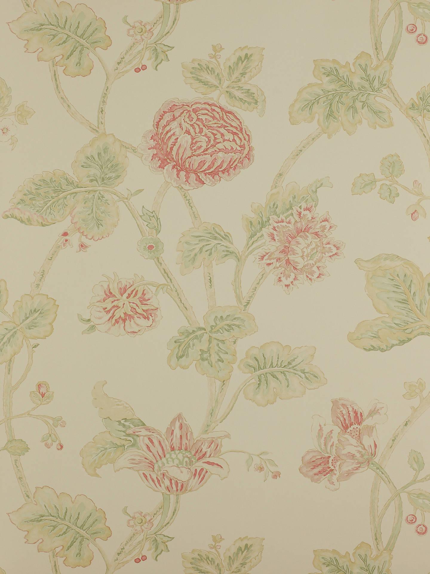 Buy Colefax & Fowler Berwick Wallpaper, Red / Green, - Wallpaper , HD Wallpaper & Backgrounds