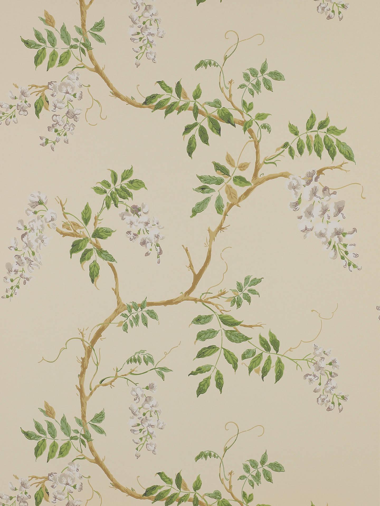 Buy Colefax & Fowler Alderney Wallpaper, Cream 07963/02 - Colefax And Fowler Alderney Aqua , HD Wallpaper & Backgrounds