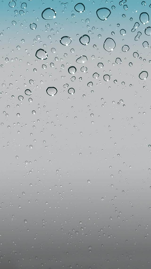 4k Ios 9 Wallpaper - Iphone Raindrop Wallpaper Hd , HD Wallpaper & Backgrounds