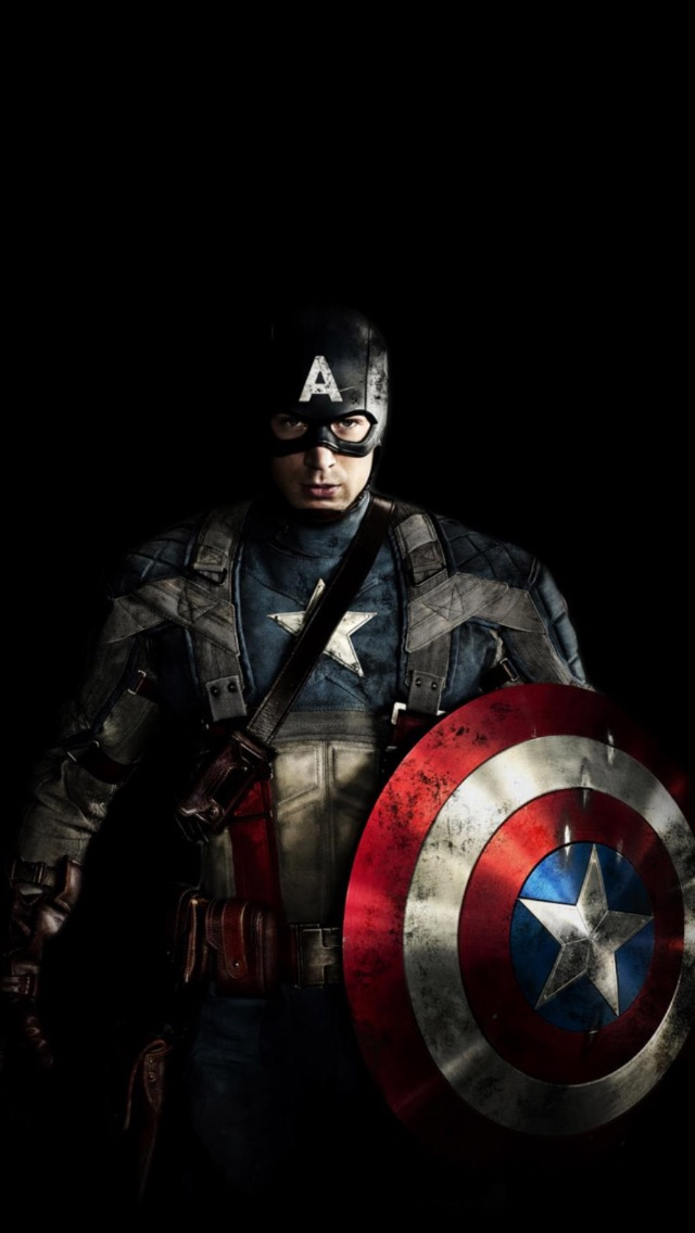 Lock Screen Captain America Wallpaper Iphone , HD Wallpaper & Backgrounds