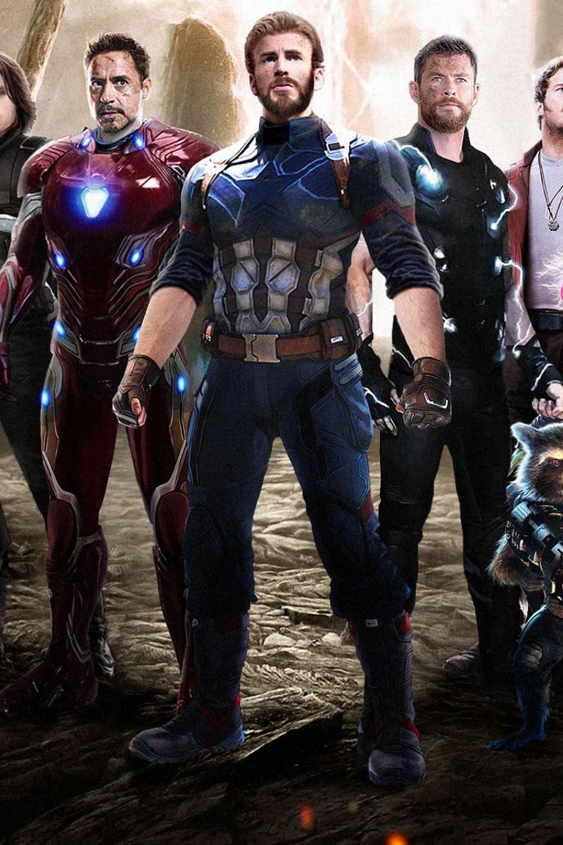 Captain America Iron Man Thor , HD Wallpaper & Backgrounds