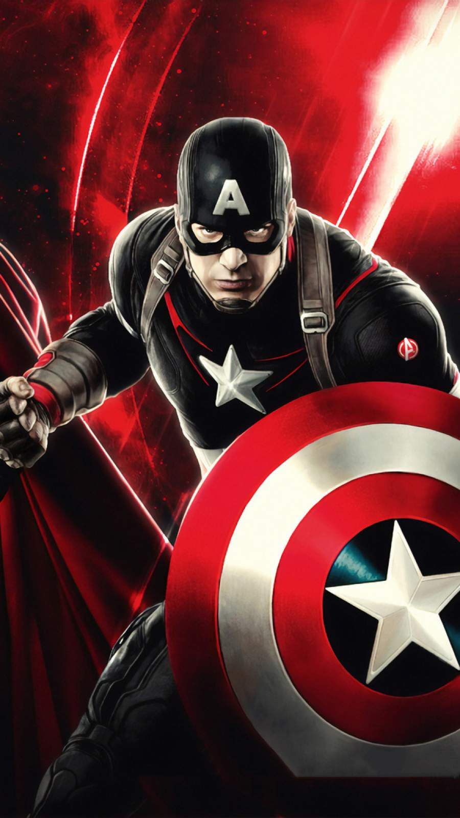 Avengers Captain America Clipart , HD Wallpaper & Backgrounds