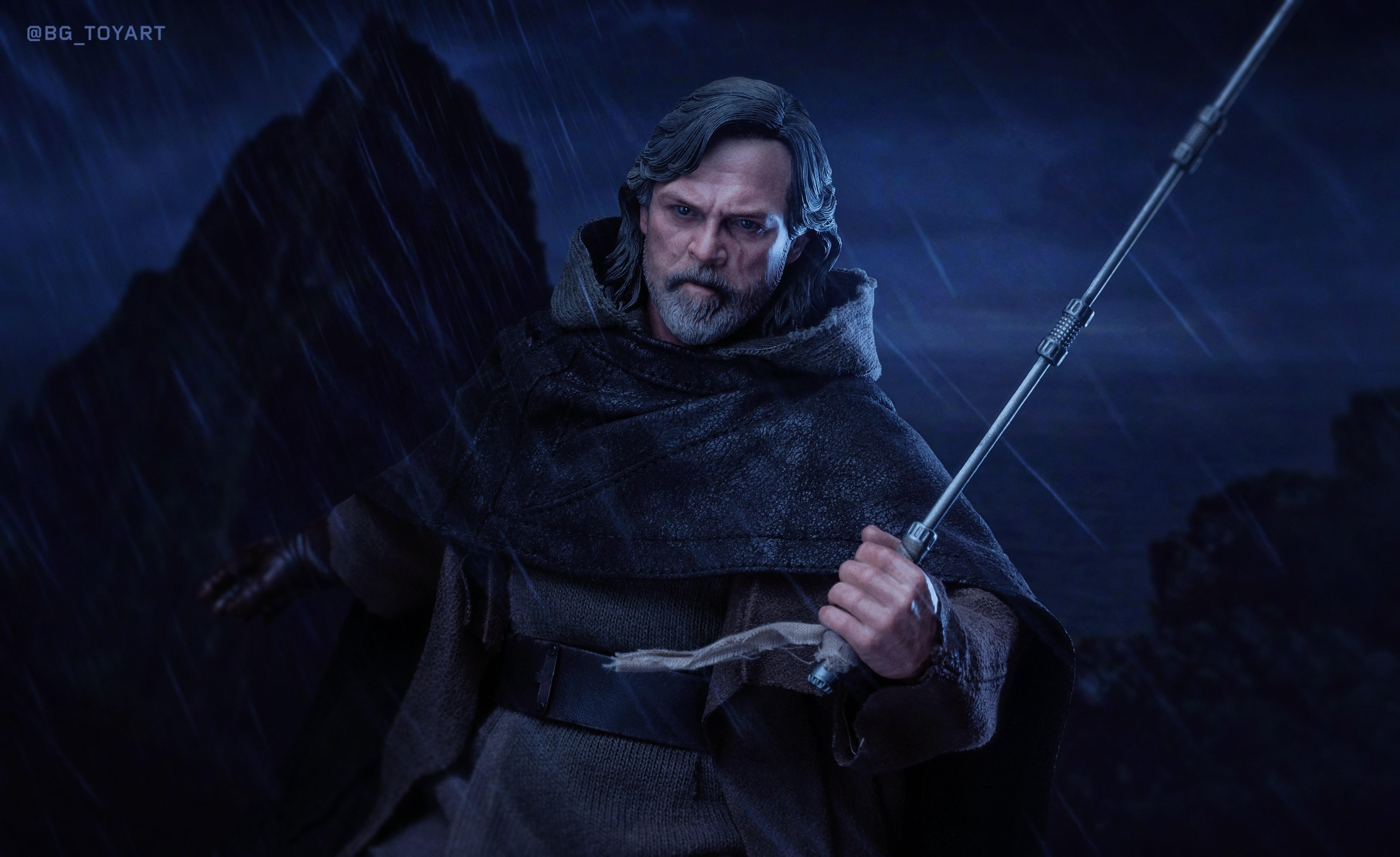 Luke Skywalker Wallpaper 4k 3110421 Hd Wallpaper Backgrounds Download