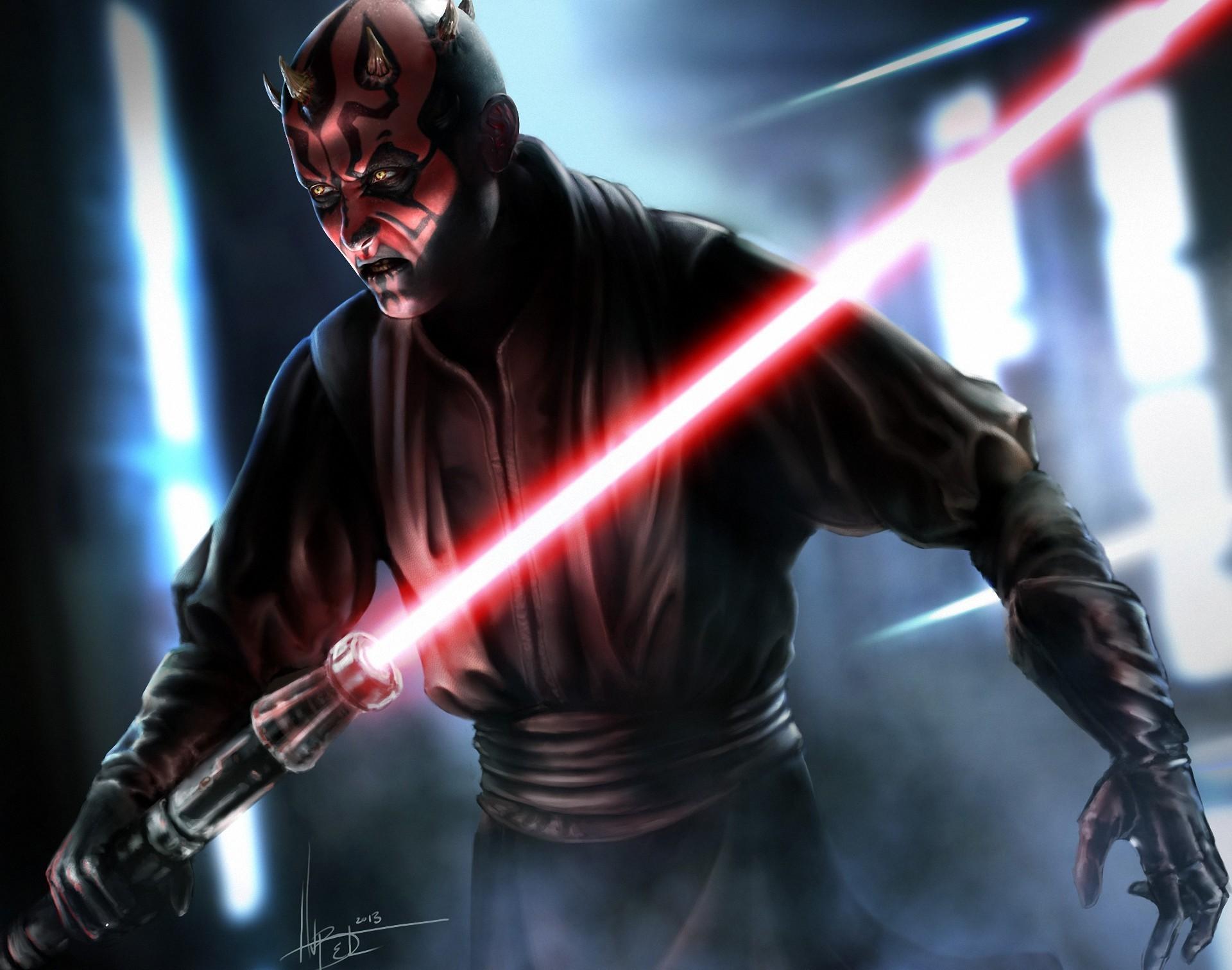 Wallpaper - Darth Maul Star Wars Sith , HD Wallpaper & Backgrounds