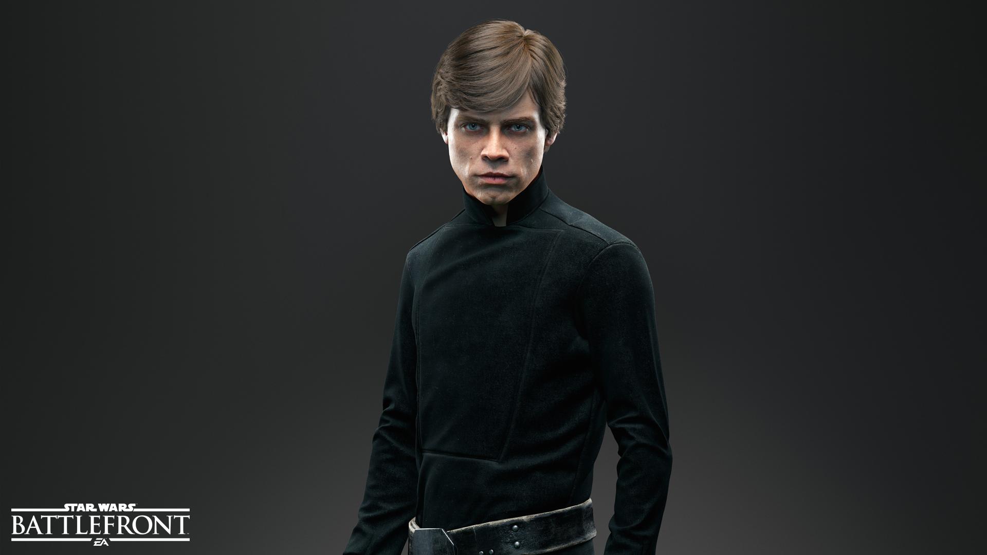 Luke Skywalker Wallpaper - Luke Star Wars Battlefront 2 , HD Wallpaper & Backgrounds