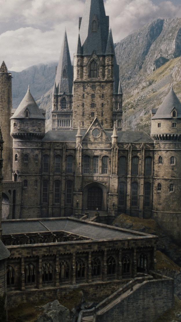 Hogwarts Live Wallpaper - Papel De Parede Celular Harry Potter , HD Wallpaper & Backgrounds