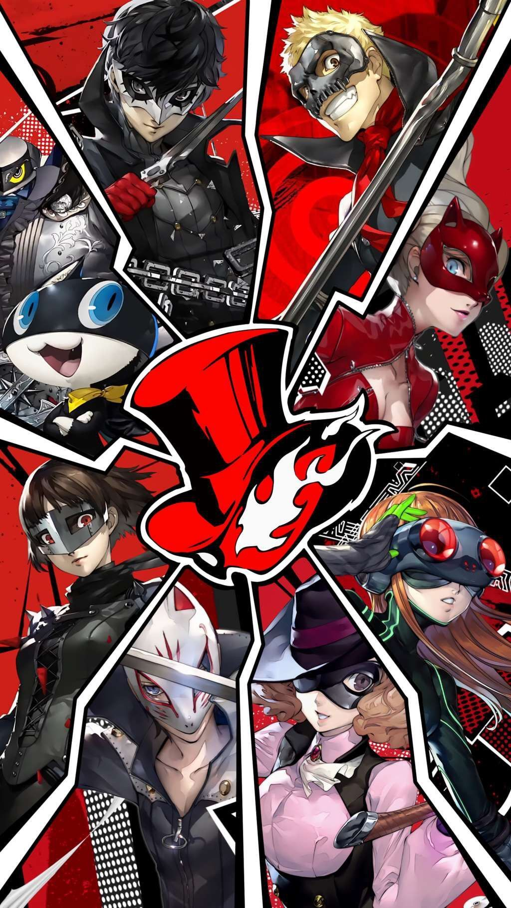 Persona 5 Phantom Thieves , HD Wallpaper & Backgrounds