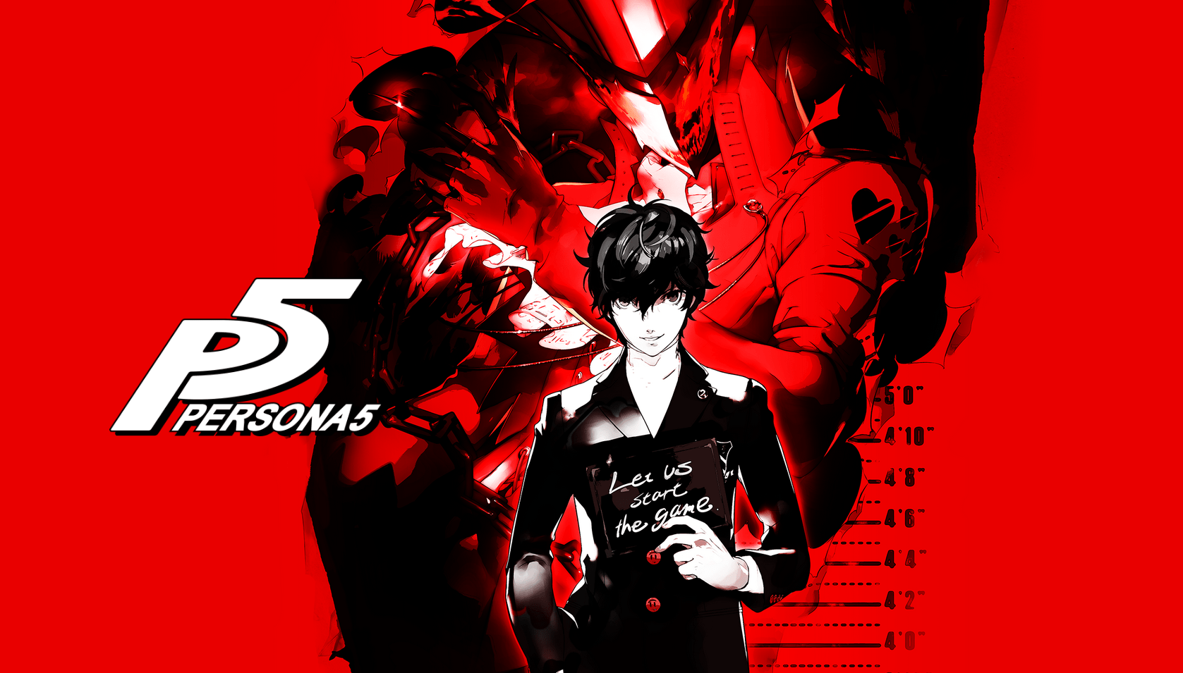 Persona 5 Wallpaper 4k Anime Ps4 Profile Background 3112386 Hd Wallpaper Backgrounds Download