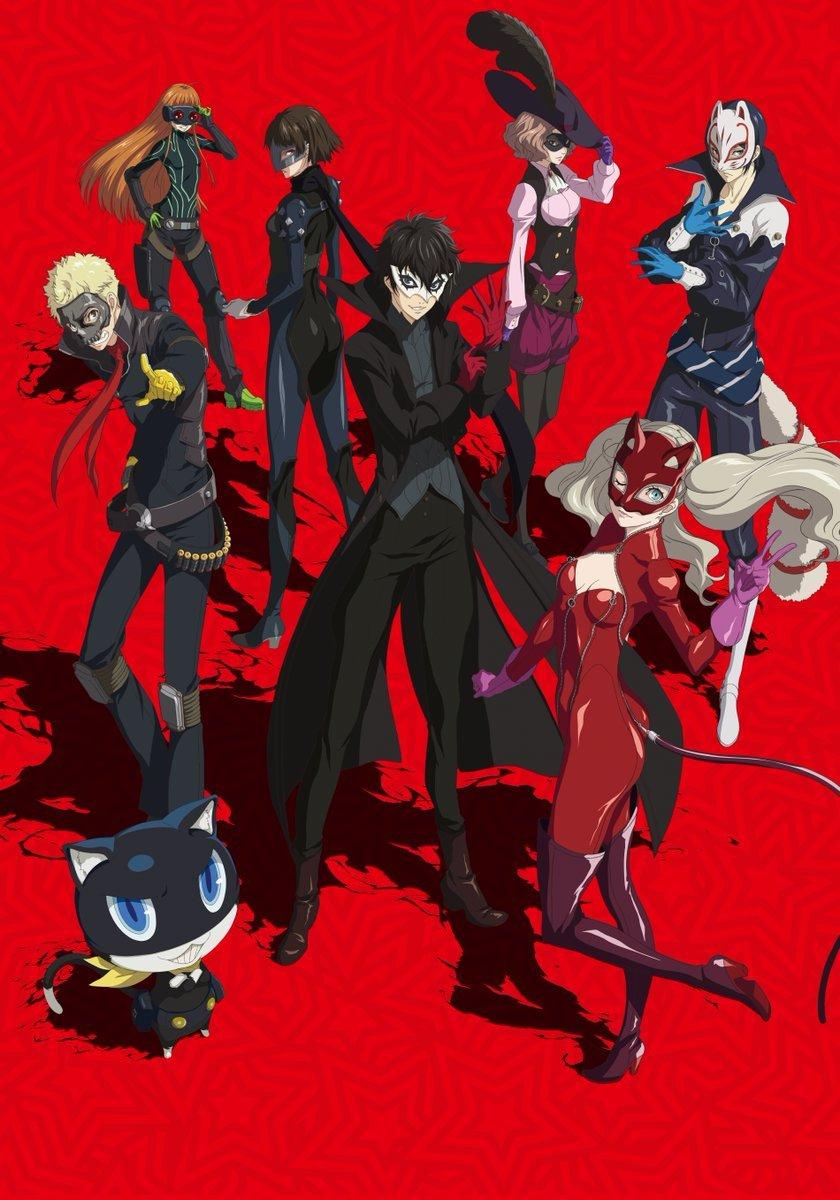 Persona 5 Wallpaper 4k - Persona 5 Phantom Thieves Of Hearts , HD Wallpaper & Backgrounds