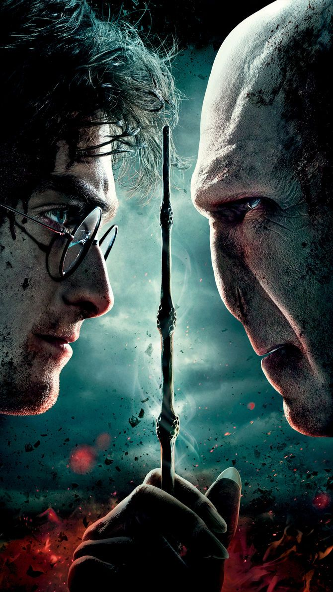 Deathly Hallows Wallpaper - Harry Potter Y Voldemort , HD Wallpaper & Backgrounds