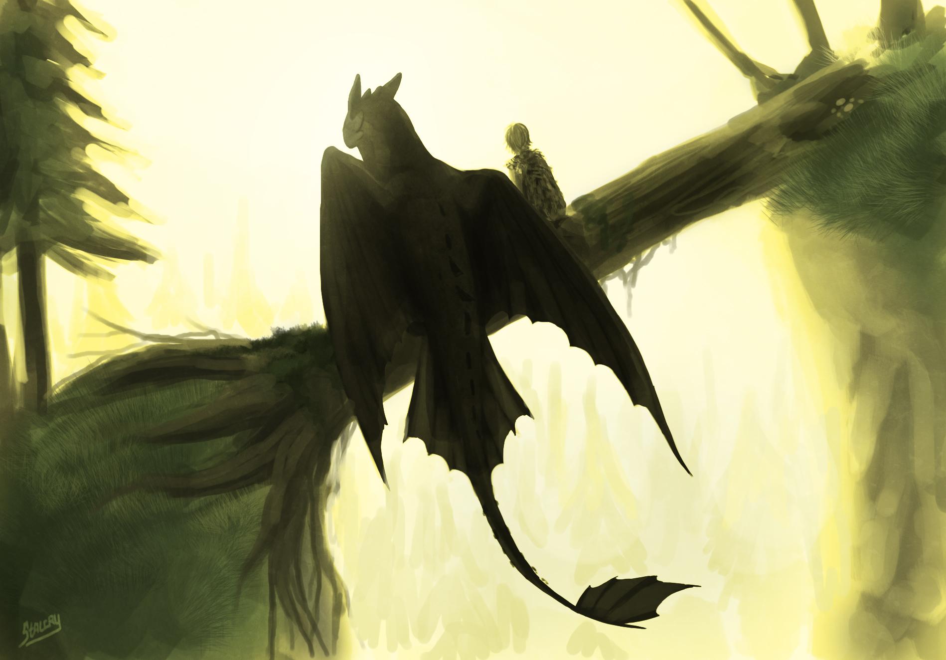 Fan Art How To Train Your Dragon , HD Wallpaper & Backgrounds