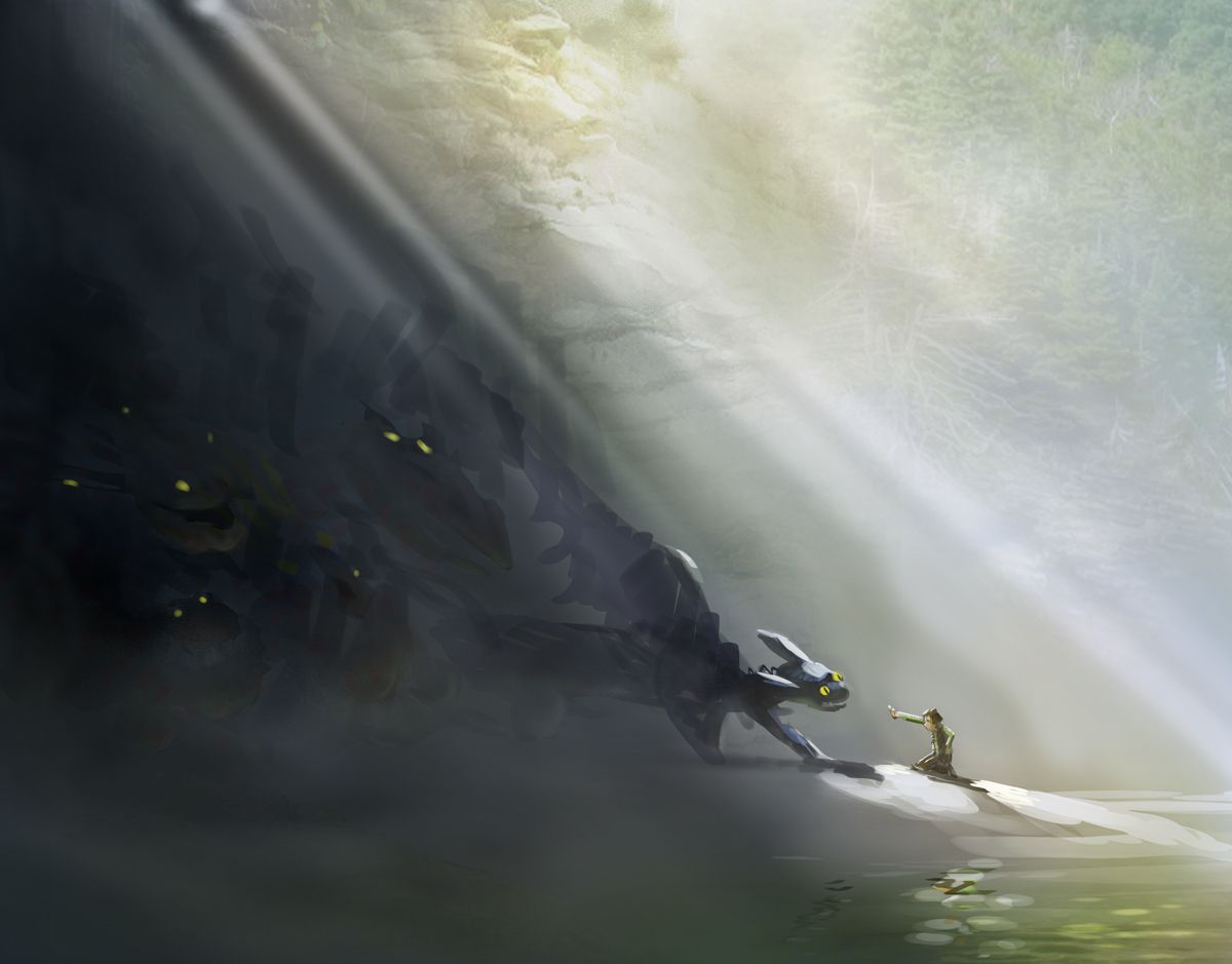 Concept Art For How To Train Your Dragon , HD Wallpaper & Backgrounds