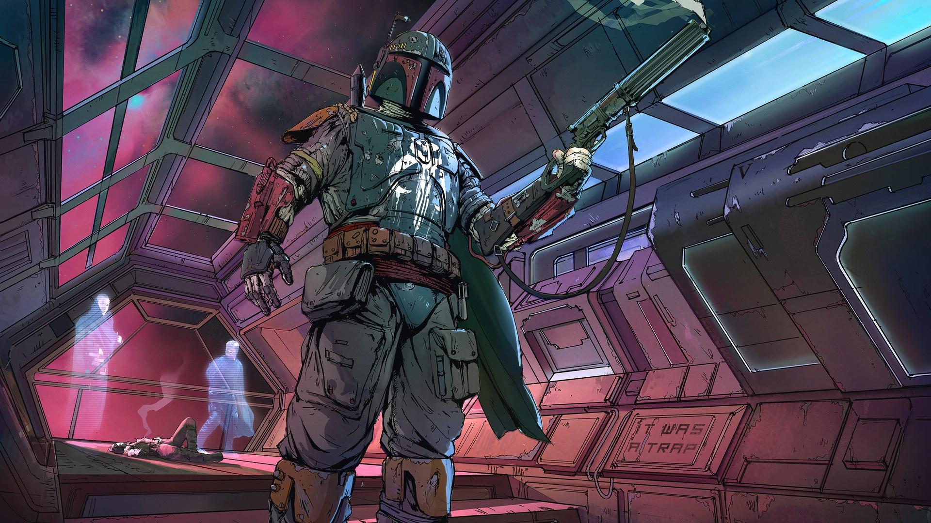 Sci Fi Star Wars Boba Fett Bounty Hunter Hd Wallpaper Star Wars Online Bounty Hunter 3116707 Hd Wallpaper Backgrounds Download