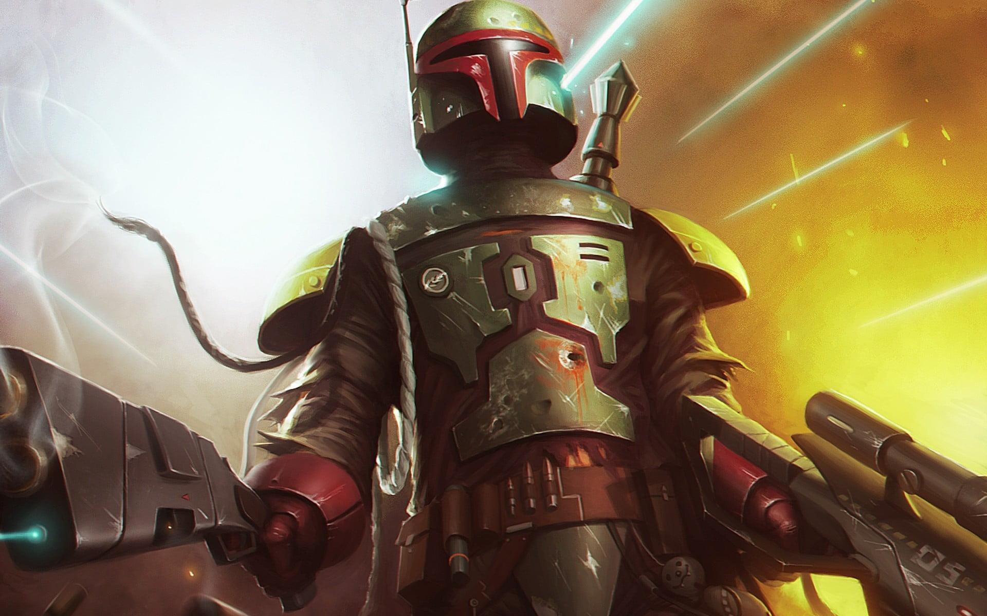 Star Wars Boba Fett Art 3116913 Hd Wallpaper Backgrounds Download