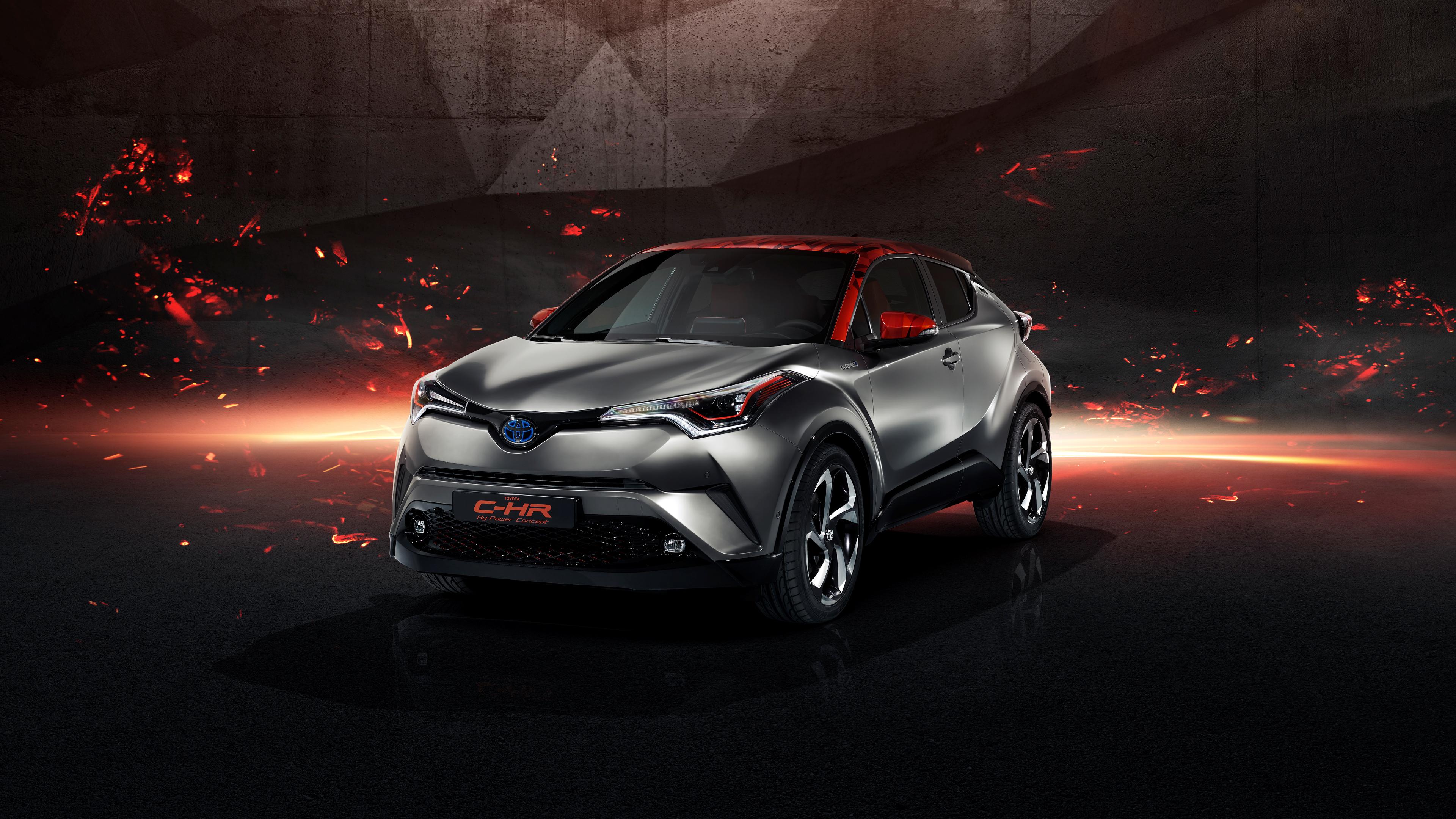 Toyota Chr Wallpaper 4k , HD Wallpaper & Backgrounds
