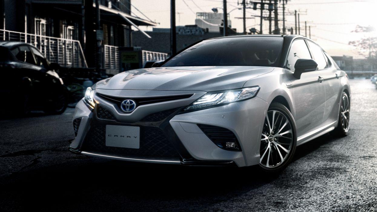 Toyota Camry Hybrid Ws 2018 4k 2-hd Wallpaper - Toyota Camry Wallpaper Hd , HD Wallpaper & Backgrounds
