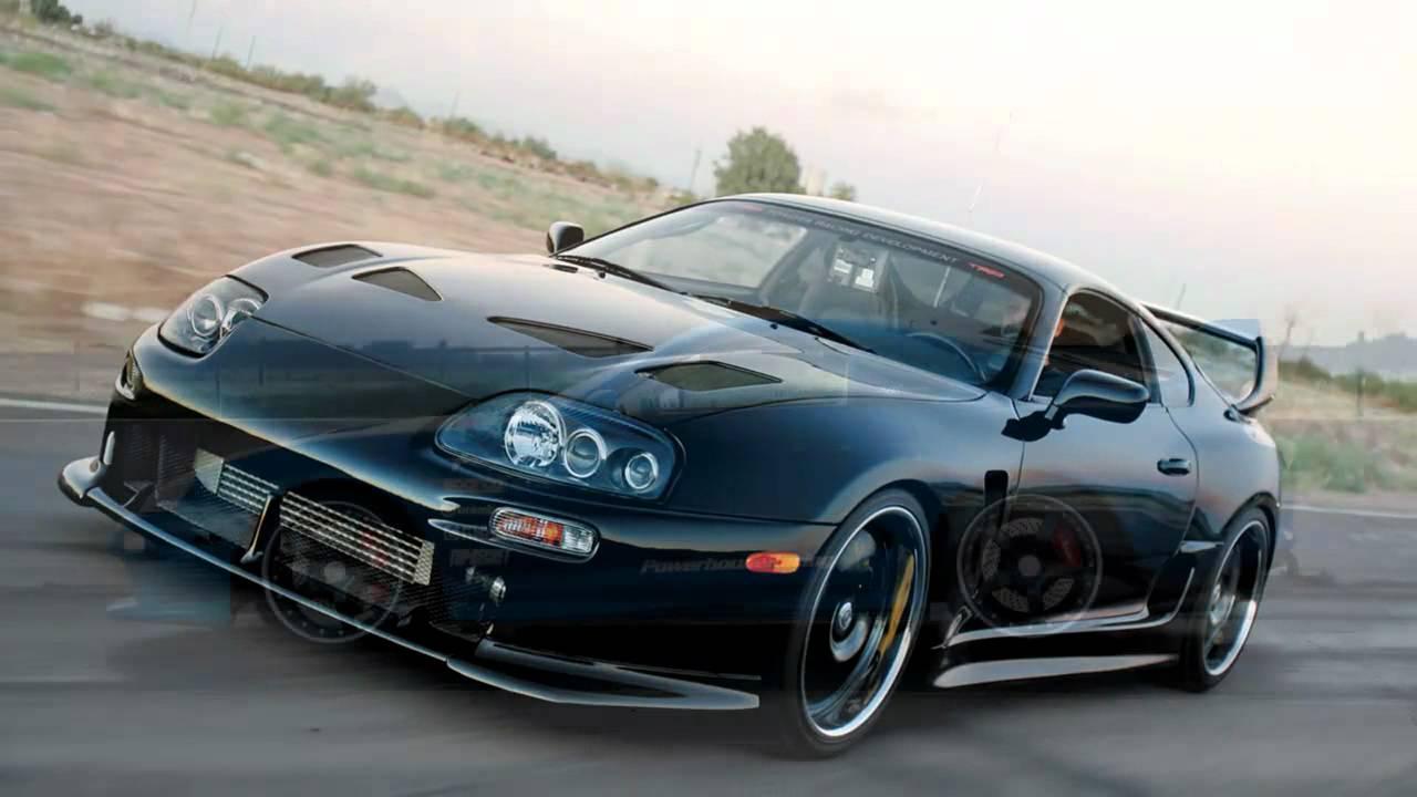 1998 Toyota Supra Black , HD Wallpaper & Backgrounds