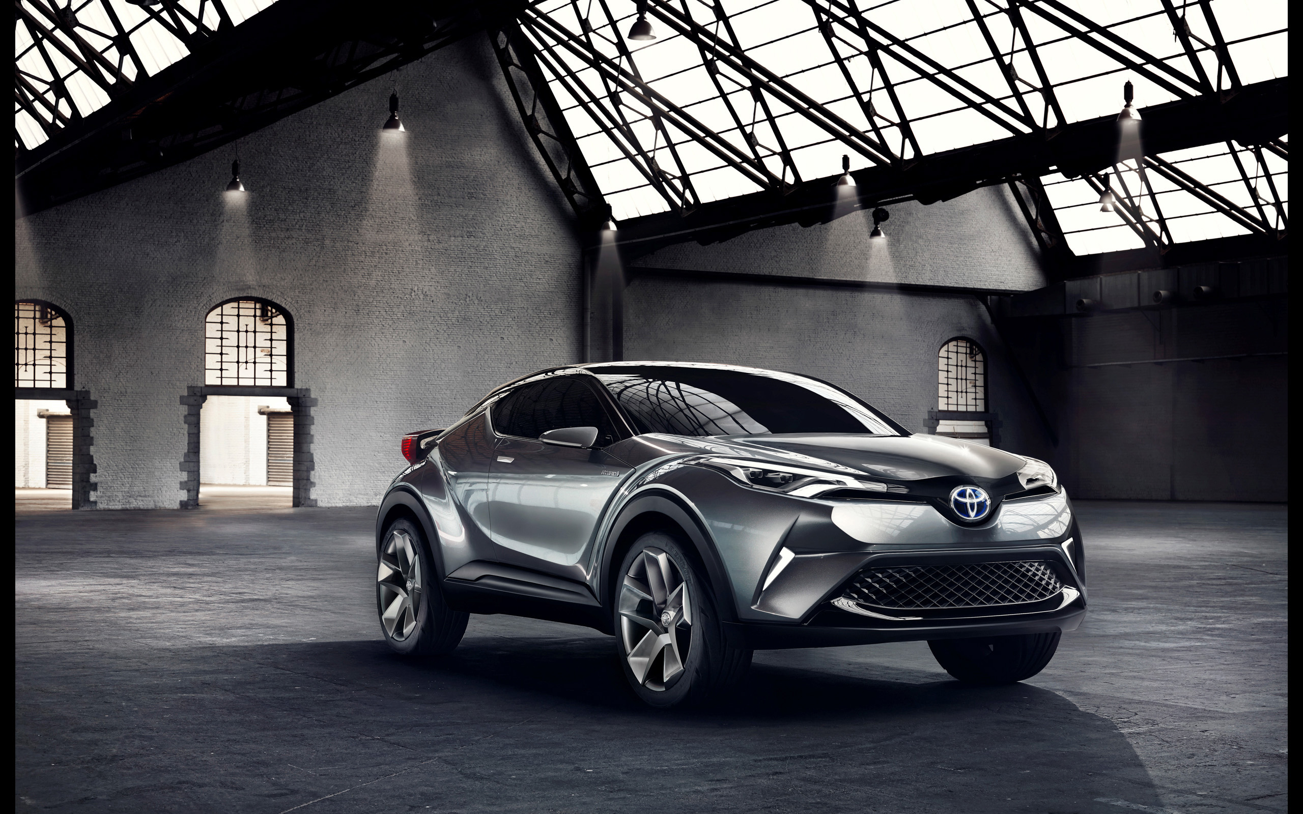 Toyota Chr Concept , HD Wallpaper & Backgrounds