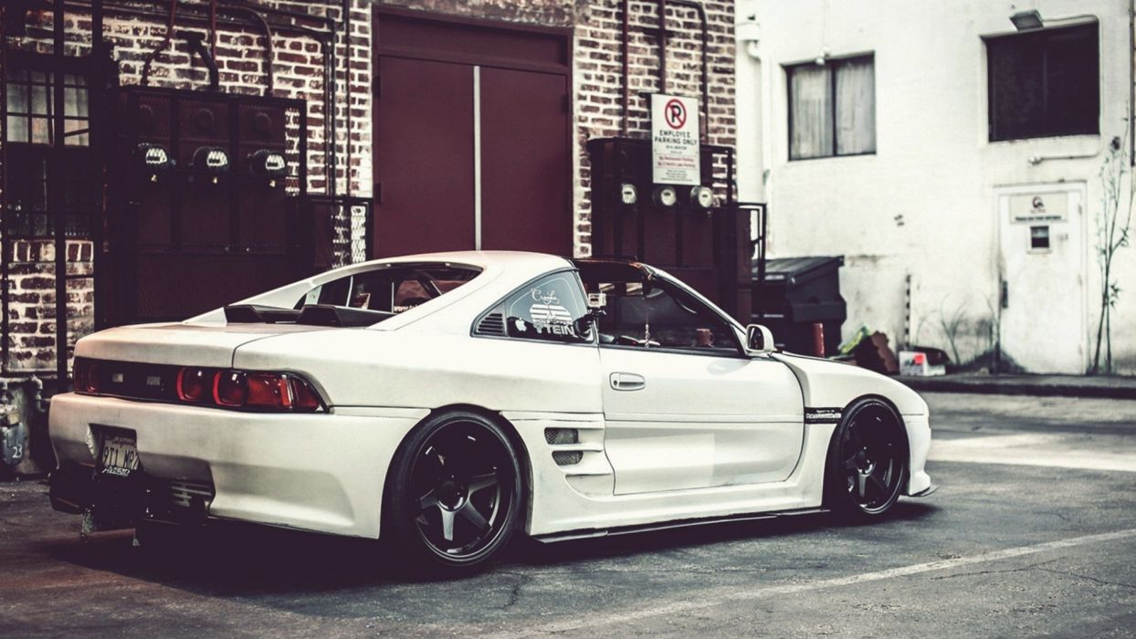 Streets Cars Toyota Tuning Toyota Mr2 Wallpaper - Toyota Mr2 Mk2 Tuned , HD Wallpaper & Backgrounds