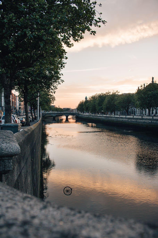 Ireland River Liffey Dublin Bicycle City Sunset Iphone 11 Wallpaper Dublin 3122268 Hd Wallpaper Backgrounds Download