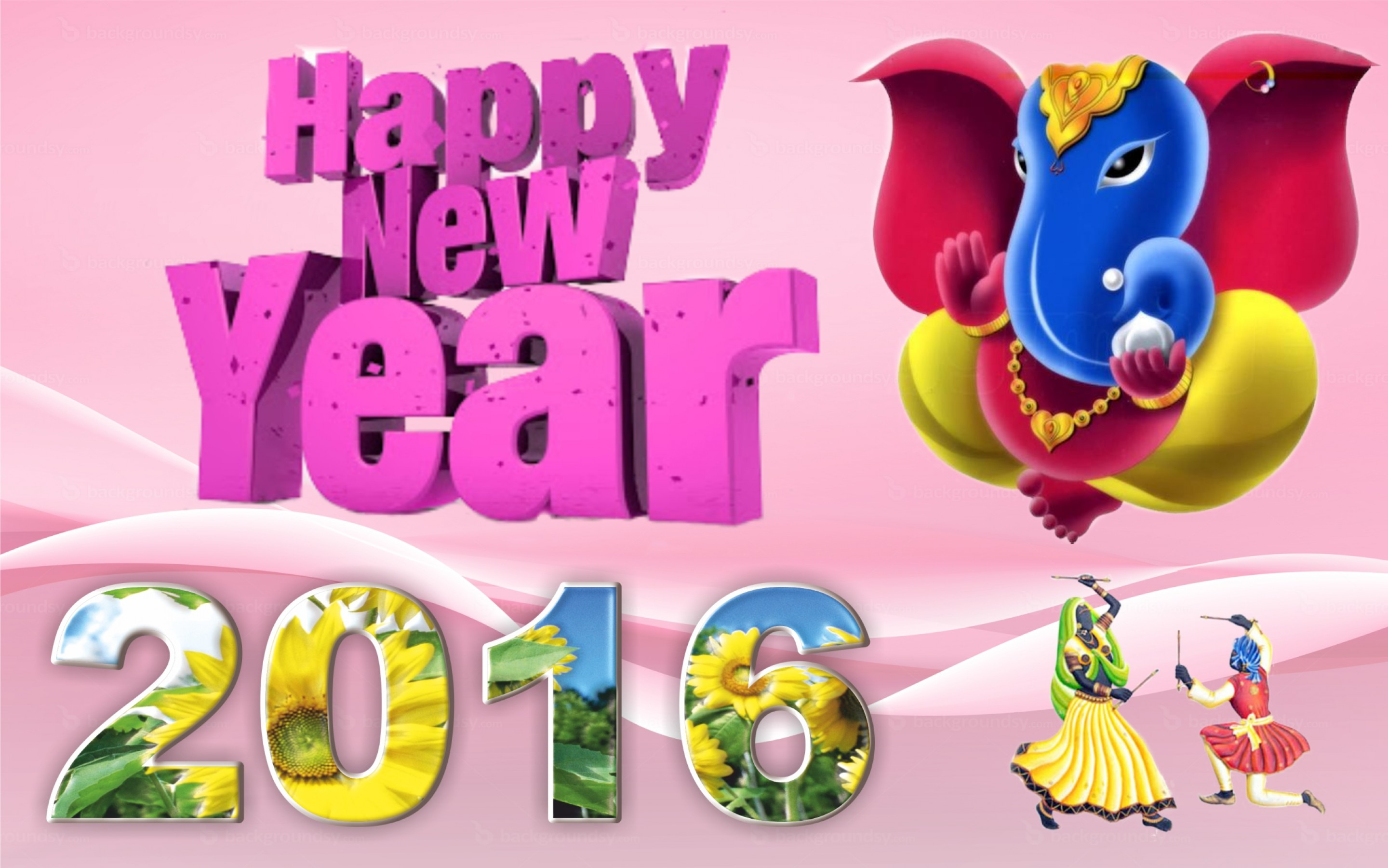Happy New Year , HD Wallpaper & Backgrounds