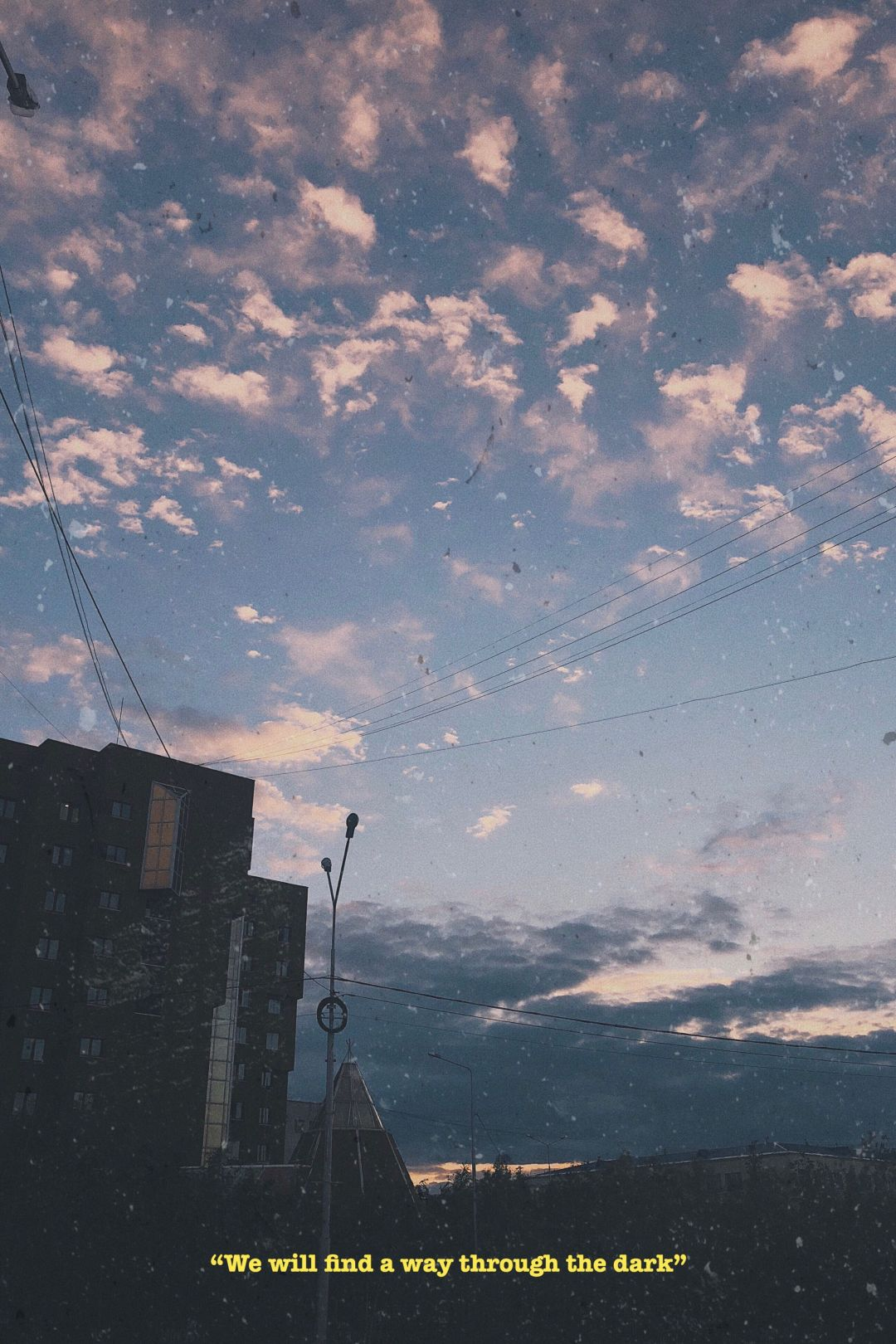 Sad Aesthetic Tumblr - Aesthetic Dark Clouds Quotes , HD Wallpaper & Backgrounds