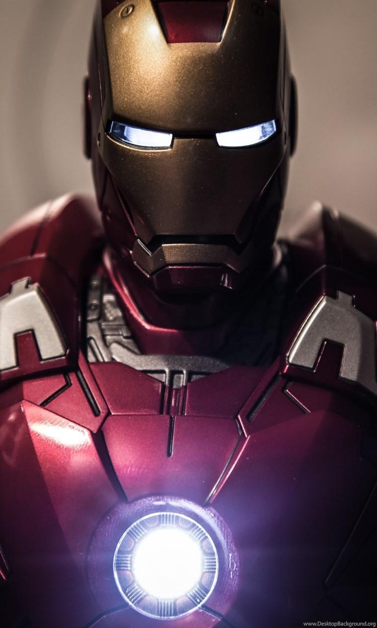 Iron Man, Wolverine, Captain America & Hulk Hd Wallpapers - 4k Wallpapers Iron Man For Mobile , HD Wallpaper & Backgrounds