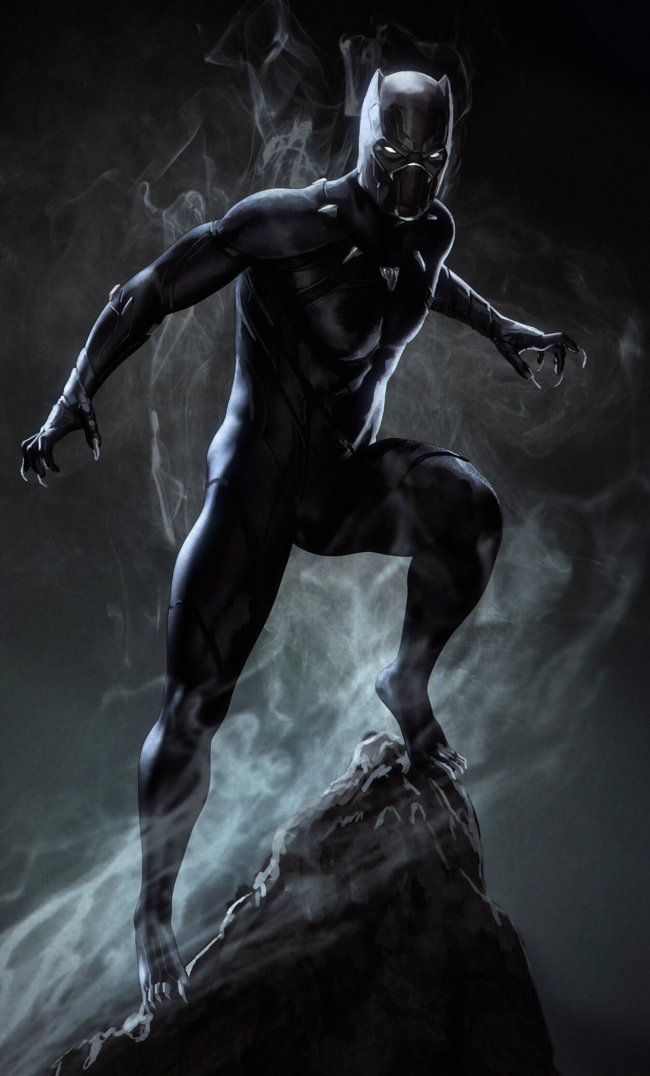 4k Wallpaper The Black Panther 3130169 Hd Wallpaper Backgrounds Download