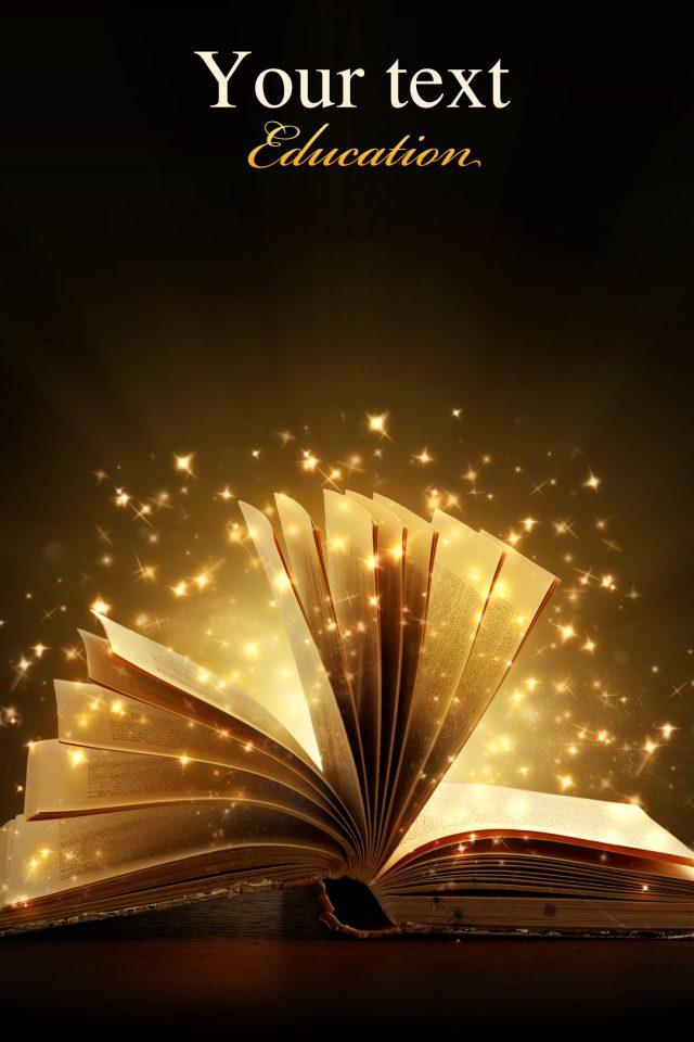 Creative Magic Books Iphone Wallpaper , HD Wallpaper & Backgrounds