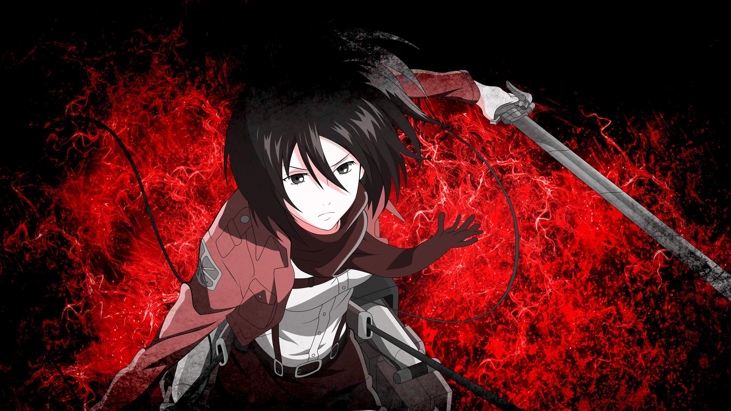 Mikasa Ackerman 3139552 Hd Wallpaper Backgrounds Download