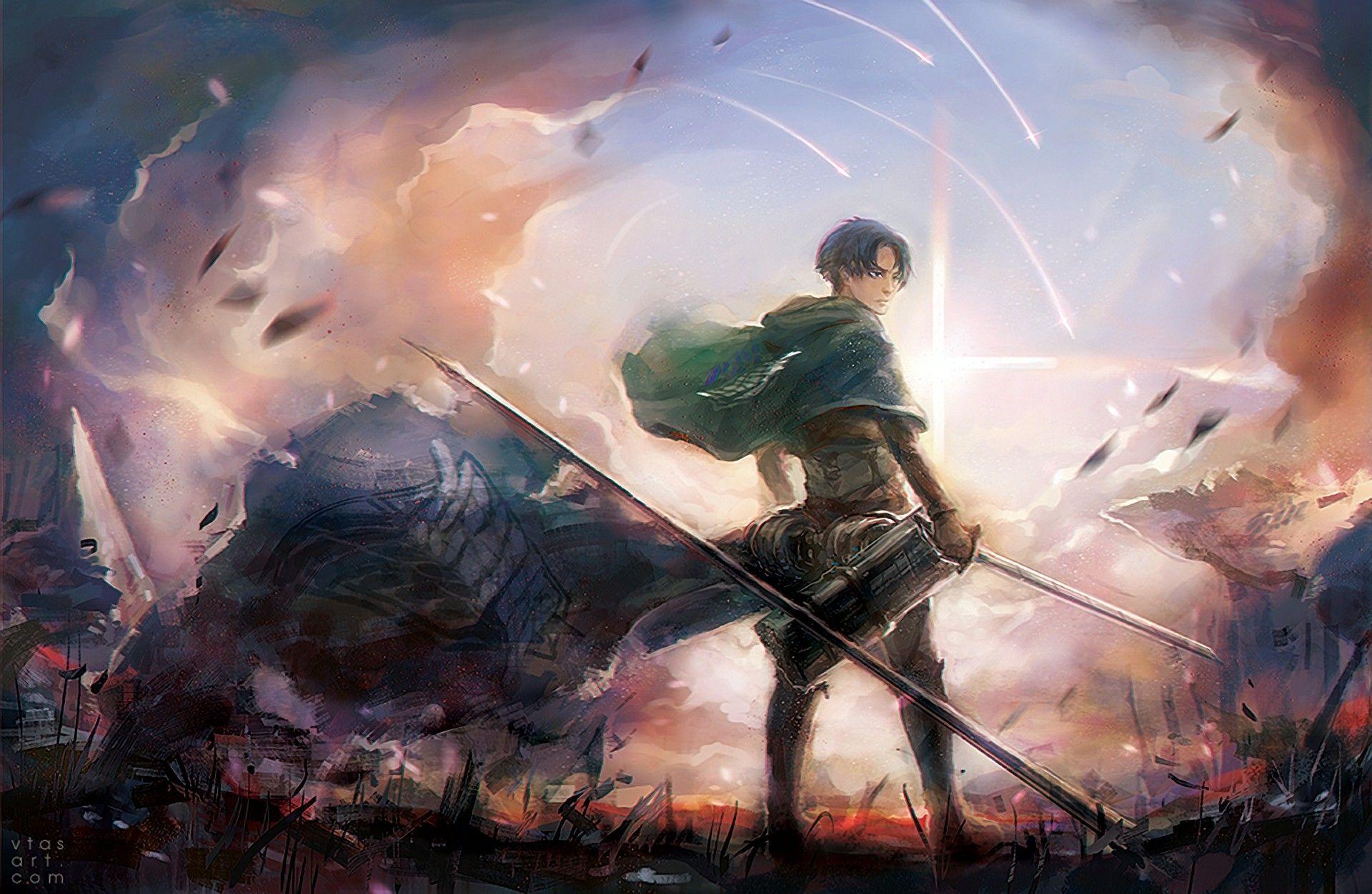 Attack On Titans Wallpaper Levi Shingeki No Kyojin Wallpaper Levi 3139601 Hd Wallpaper Backgrounds Download