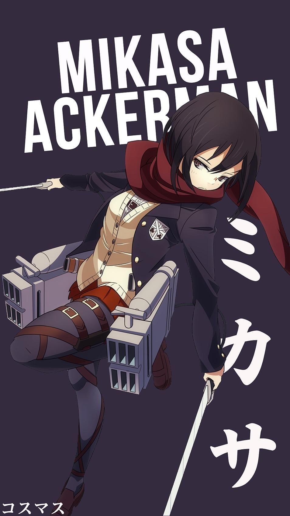 Mikasa Ackerman 3139674 Hd Wallpaper Backgrounds Download