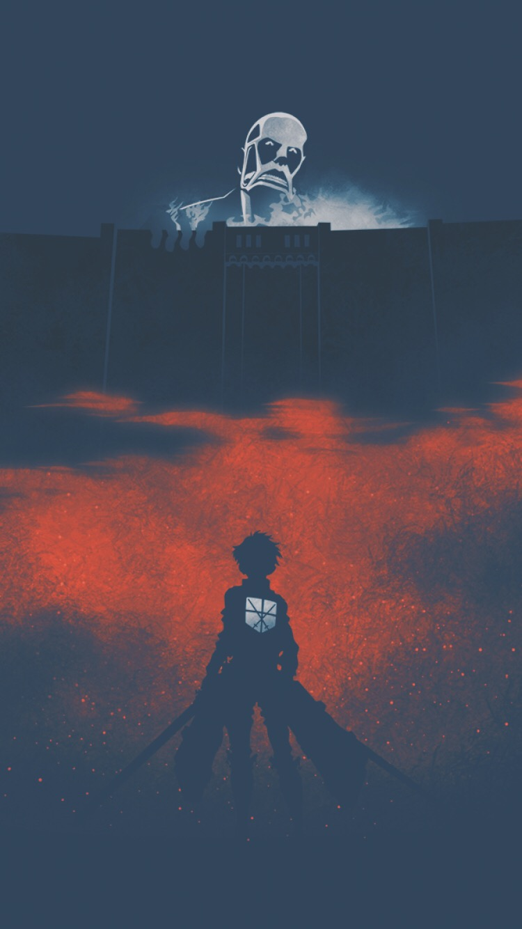 Aot Wallpaper 👍 - Anime Wallpaper 4k Phone Attack On Titan , HD Wallpaper & Backgrounds