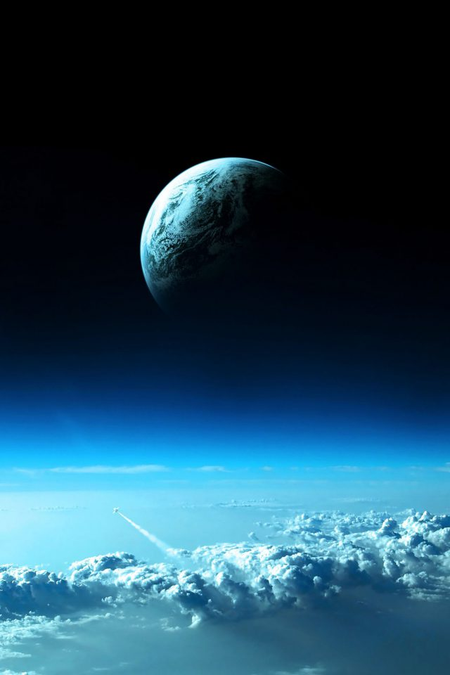Earth View From Earth Space Iphone Wallpaper - Hd Gif Wallpaper Android , HD Wallpaper & Backgrounds