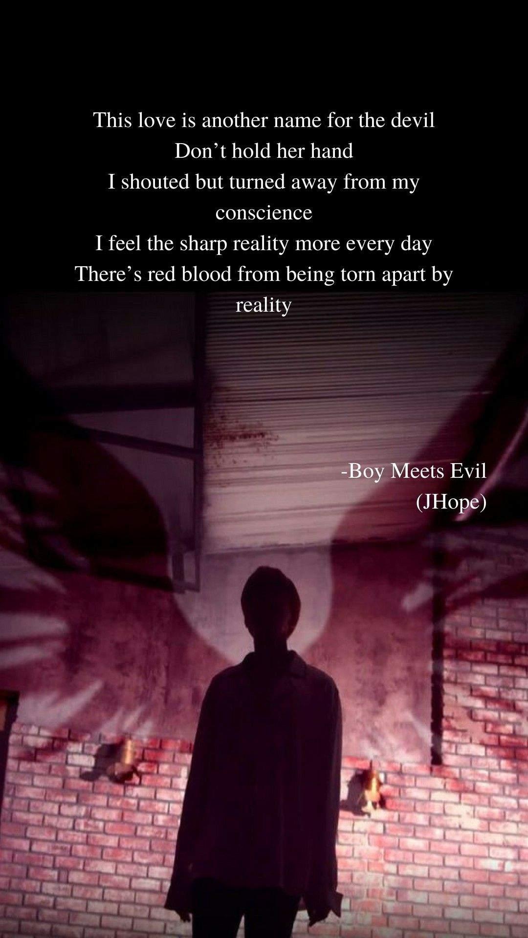 Bts Boy Meets Evil , HD Wallpaper & Backgrounds