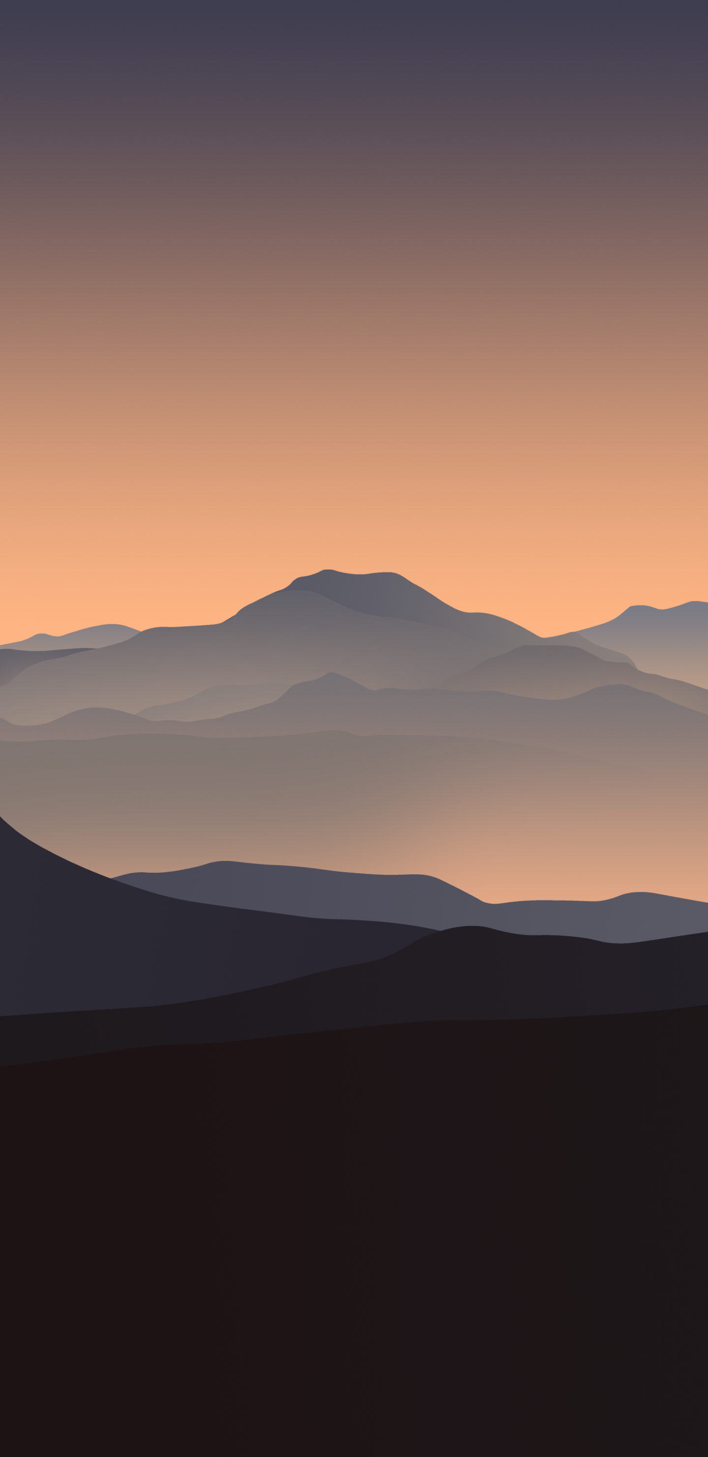 V4byarthur1992as Iphone Mountain Wallpaper Sunset Orange - Sunset Iphone Wallpaper Mountains , HD Wallpaper & Backgrounds