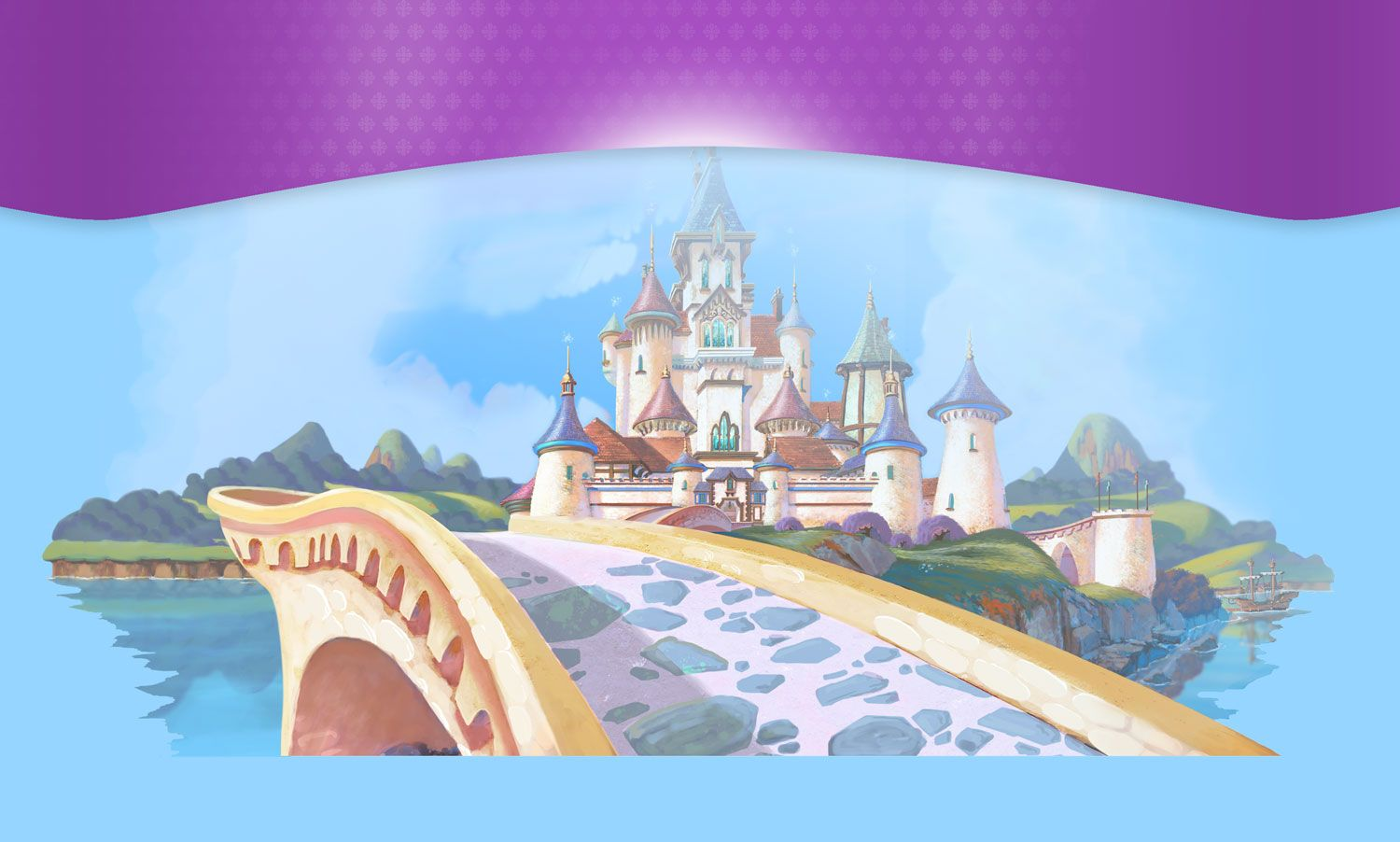 Sofia The First Castle Background Hd , HD Wallpaper & Backgrounds