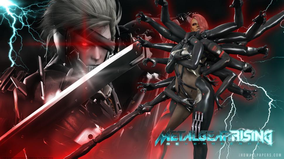 Metal Gear Solid Metal Gear Rising Revengeance Wallpaper,metal - Metal Gear Rising Revengeance Wallpaper 4k Movil , HD Wallpaper & Backgrounds