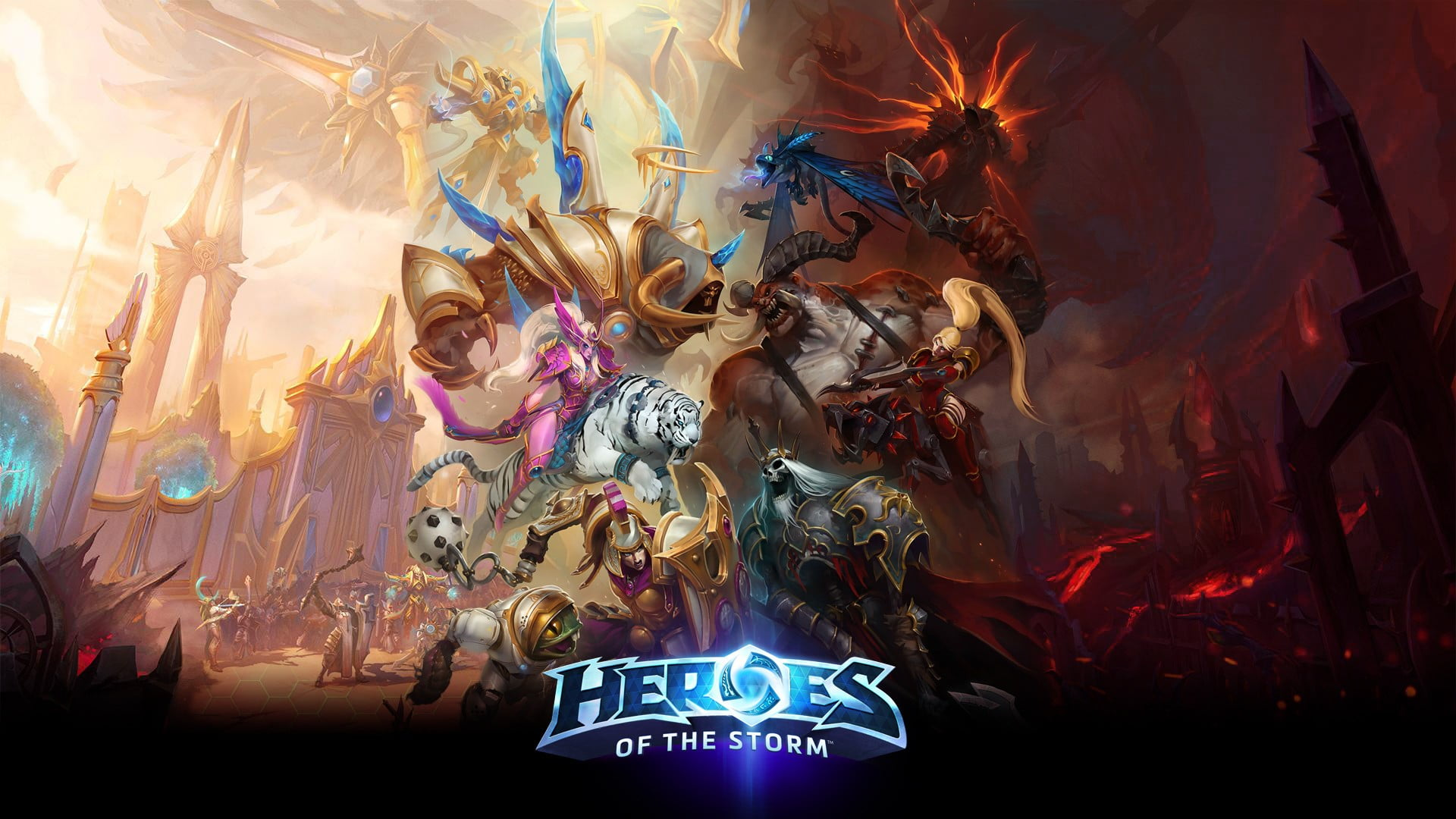 Heroes Of The Storm , HD Wallpaper & Backgrounds