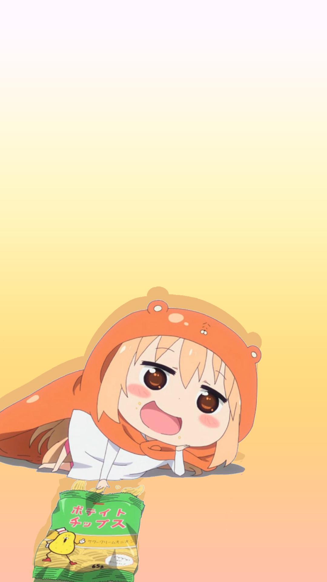 Himouto Umaru Chan Wallpaper Iphone 3159218 Hd Wallpaper Backgrounds Download