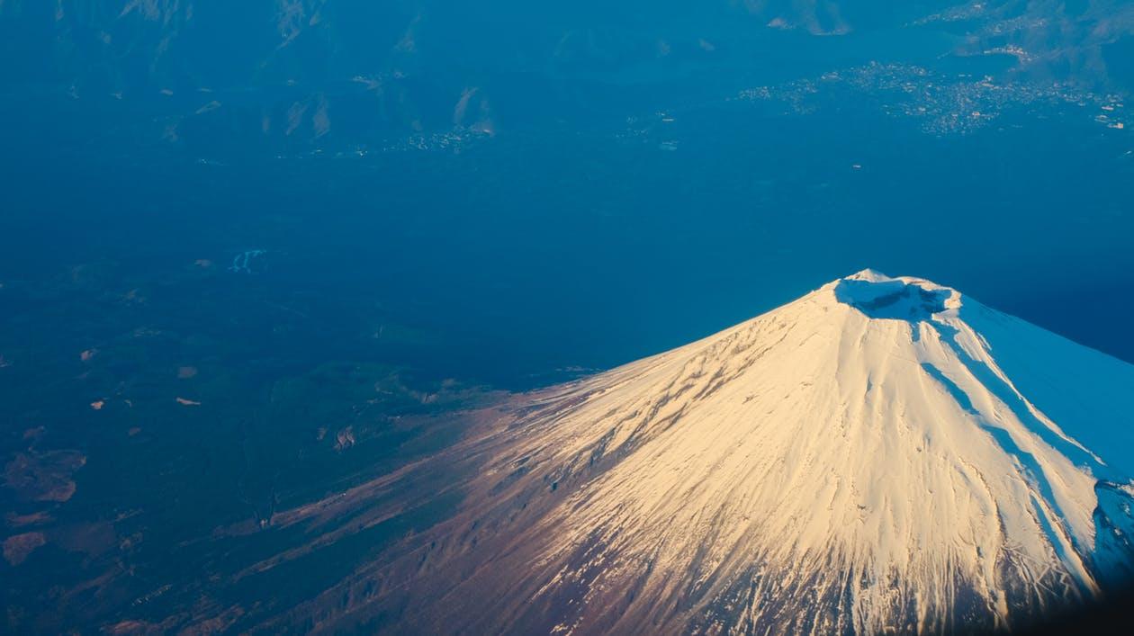 Wallpaper Kata Romantis - Volcano Birds Eye View , HD Wallpaper & Backgrounds