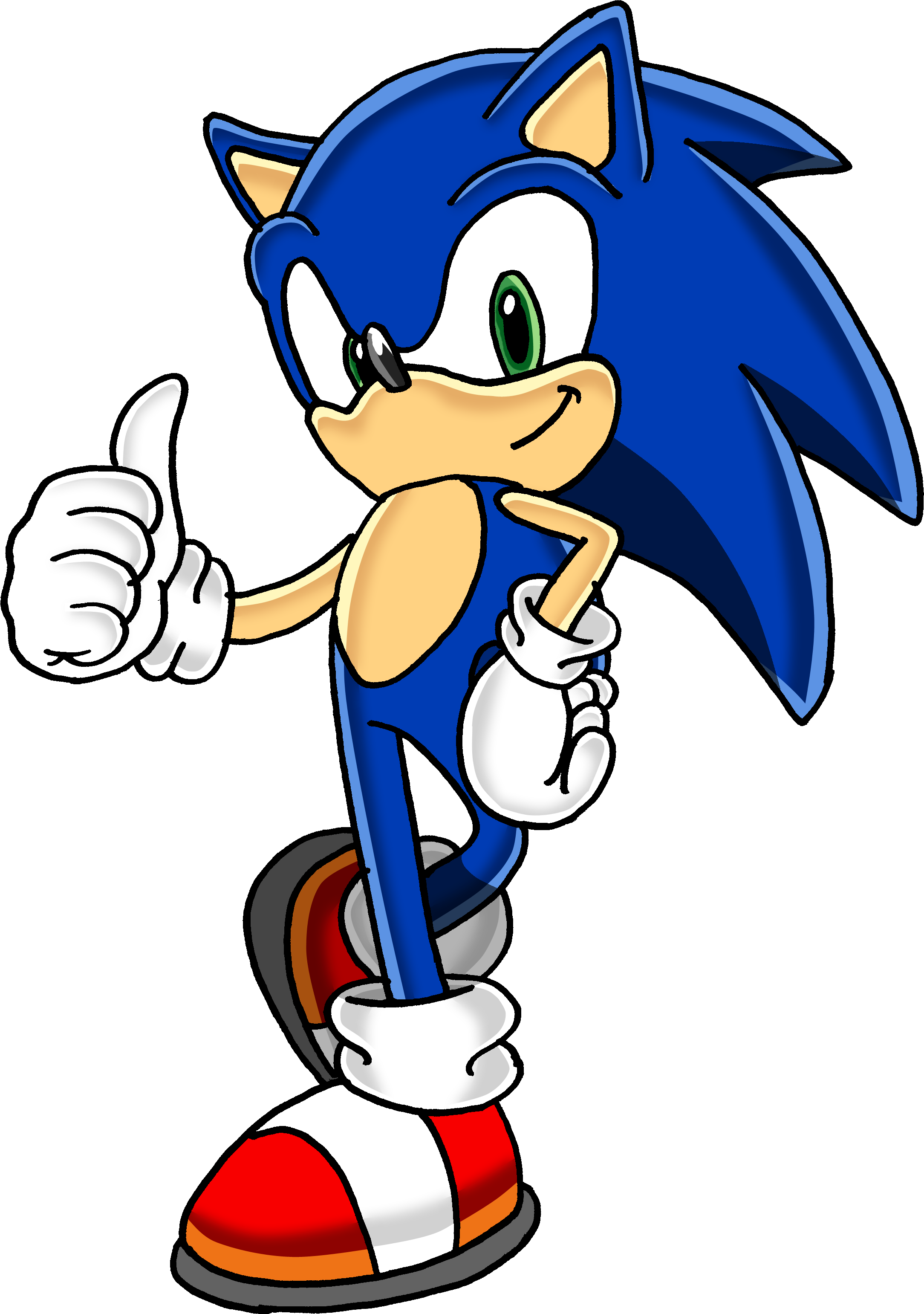 Thumb Image - Sonic Png , HD Wallpaper & Backgrounds