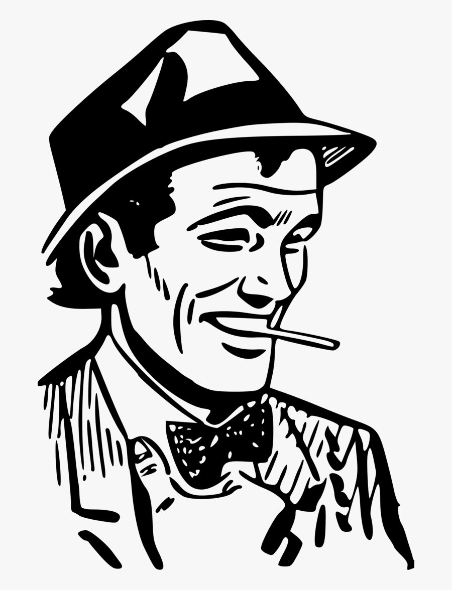Gambar Kartun Orang Keren, Transparent Clipart - Gambar Cowok Bertopi Keren Kartun , HD Wallpaper & Backgrounds