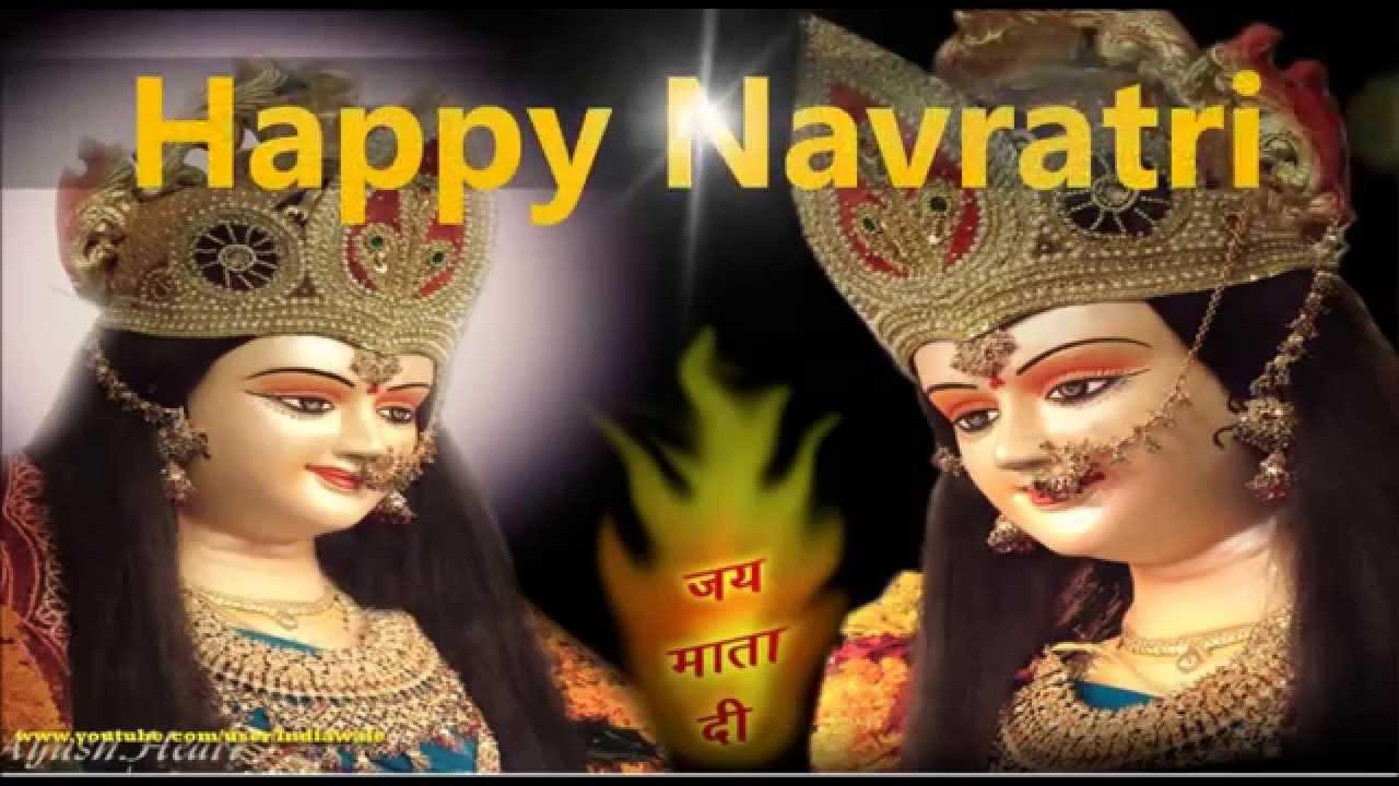 Happy Navratri Hd Wallpaper - Maa Durga Wallpaper Full Size , HD Wallpaper & Backgrounds