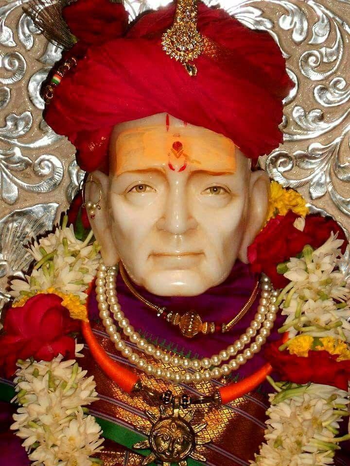 Shree Swami Samarth Wallpaper - Maharaj Shri Swami Samarth , HD Wallpaper & Backgrounds