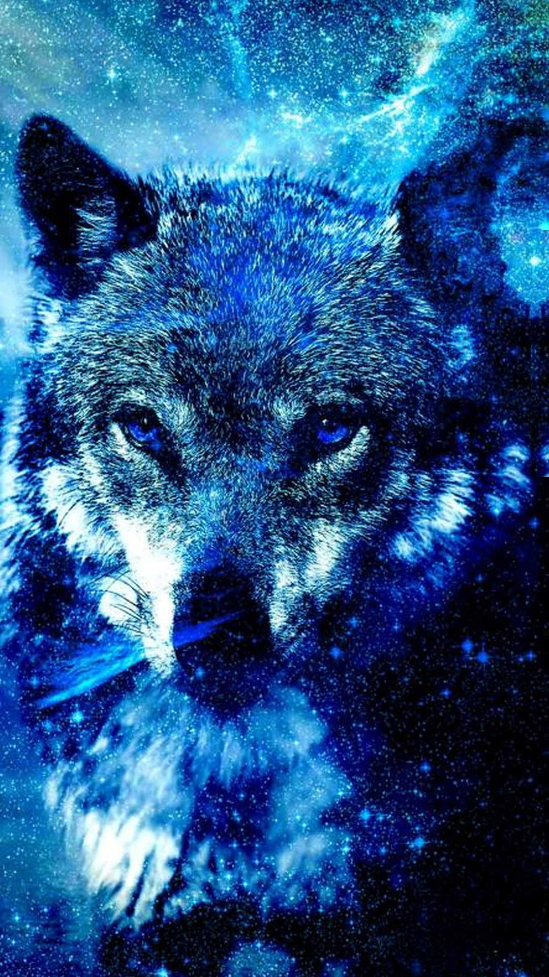 Wallpapers Phone Cool Wolf With High-resolution Pixel - Galaxy Wolf Cool Backgrounds , HD Wallpaper & Backgrounds