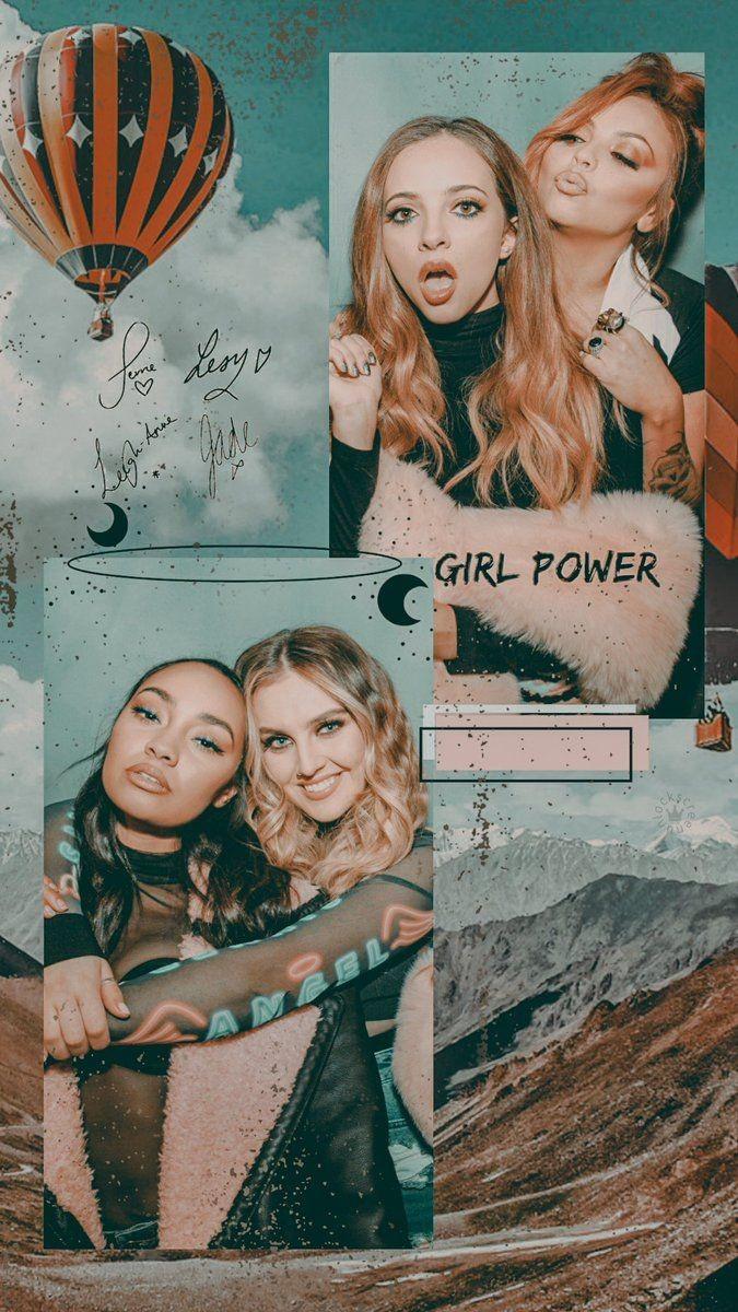 Lockscreen, Girls, Little Mix And Colour - Little Mix Lockscreen 2018 , HD Wallpaper & Backgrounds