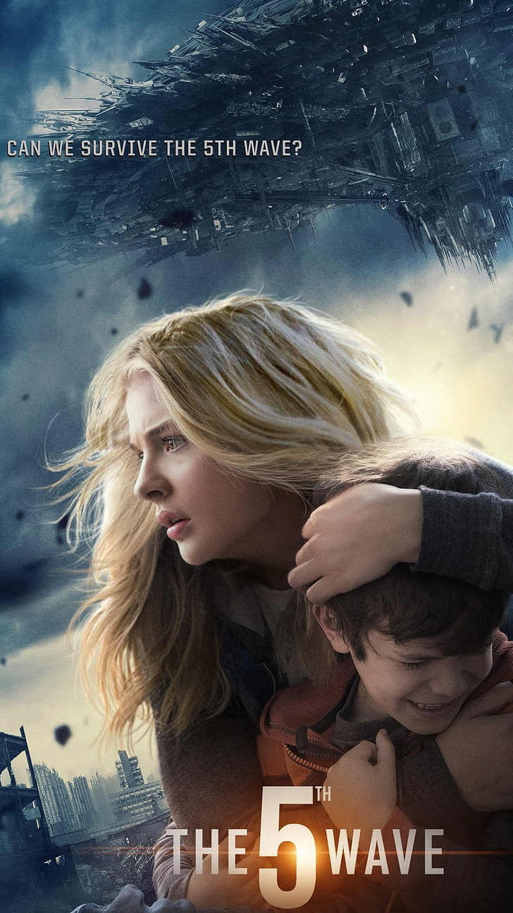 The 5th Wave 2015 Poster, The 5th Wave Poster, Movies, - Hd Poster Of Hollywood Movies , HD Wallpaper & Backgrounds