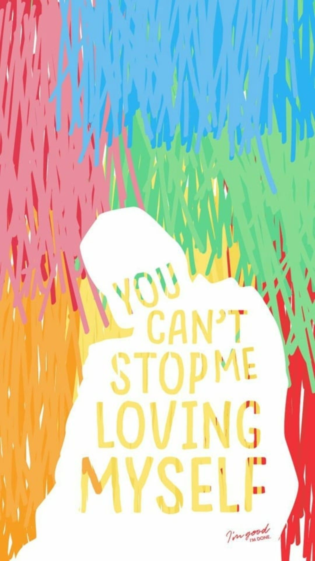 You Can T Stop Me Loving Myself , HD Wallpaper & Backgrounds
